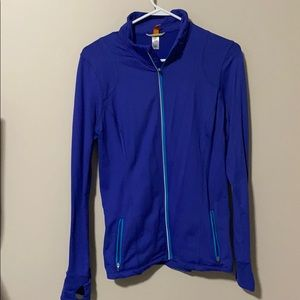Lucy jacket! Royal blue! EUC! With thumb holes